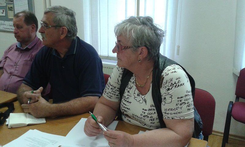 Molnár Zsuzsa, az MKP Rimaszombati járási titkára (Fotó: HE)