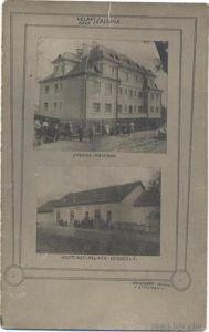 Nagycsalomja - Laktanya, Kalmár-vendéglő régi képeslapon