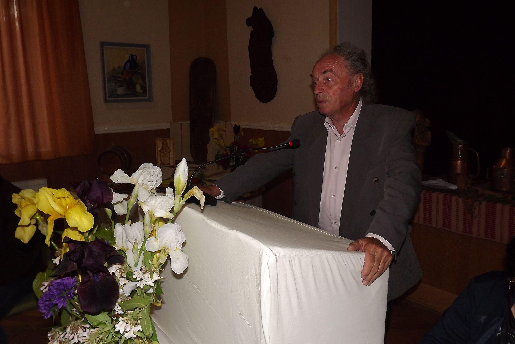 A fesztivál fővédnöke, Korpás András értékelte a nemzetközi borversenyt