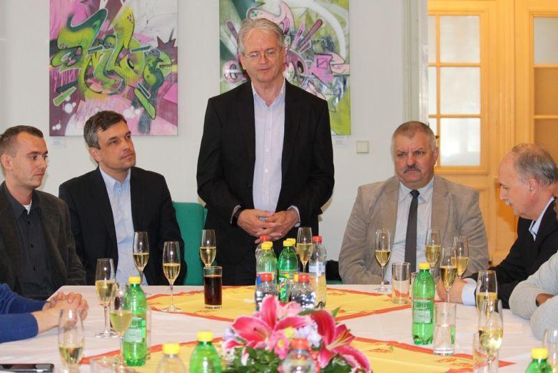 Stubendek László polgármester. Fotó: sze