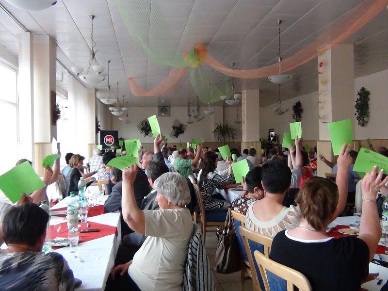 Szinte egyhangúlag szavazott a járási konferencia (Fotó:HE)