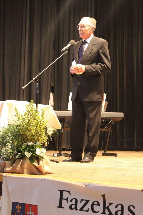 Tulassay beszédet mond (Fotó: Berényi Kornélia)