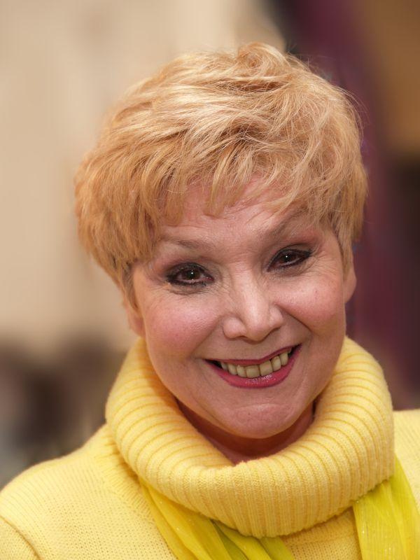 Petrécs Anna színművésznő. (Fotó: Dömötör Ede)