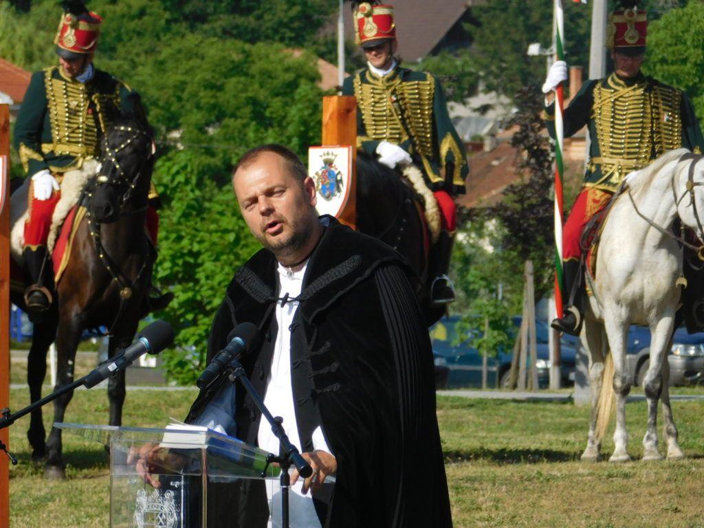 Igét hirdetett Mudi Róbert berzétei református lelkész (Fotó: PD)