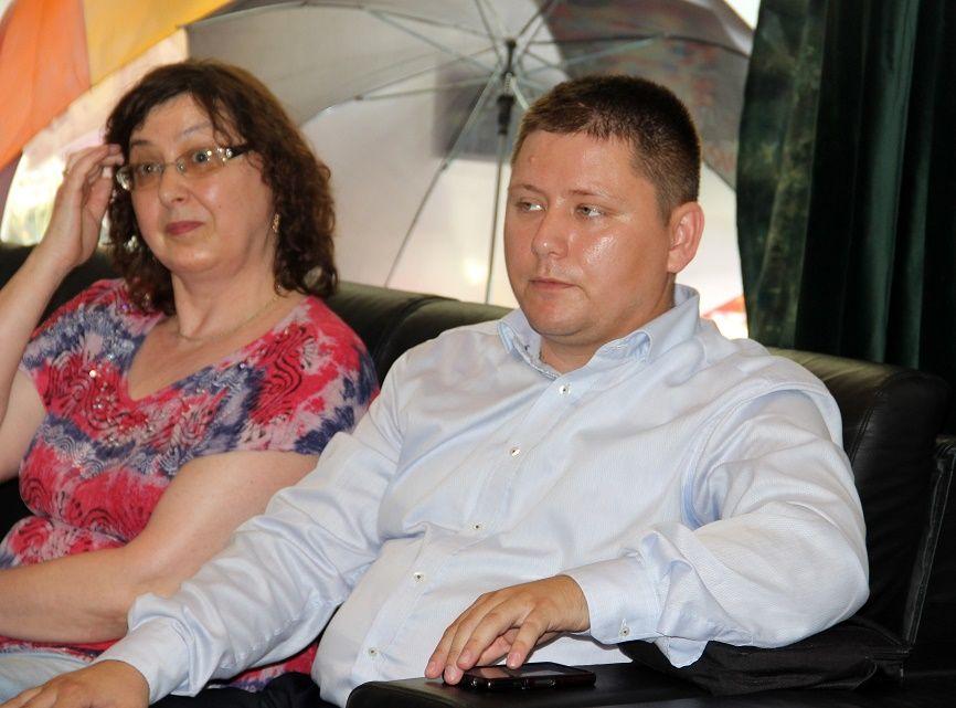 Rácz Valéria és Bitay Levente (Fotó: Balassa Zoltán/Felvidék.ma)