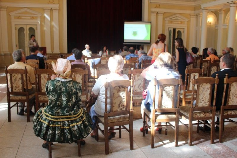 Az agrárturisztikai konferencia Komáromban, a Tiszti pavilon épületében (Fotó: SZE)