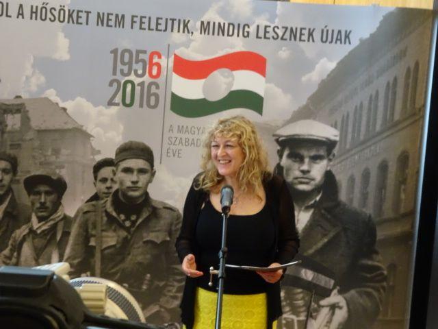 Schmidt Mária, a Terror Háza Múzeum igazgatója