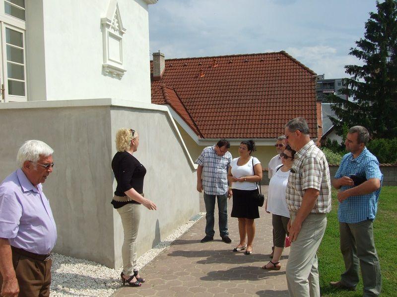 Zvolenszky Gabriella a múzeumban fogadja a vendégeket