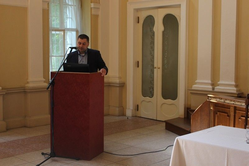 Andraskó Vince a Térség Turisztikai Szervezet Duna-mente elnöke (Fotó SZE)
