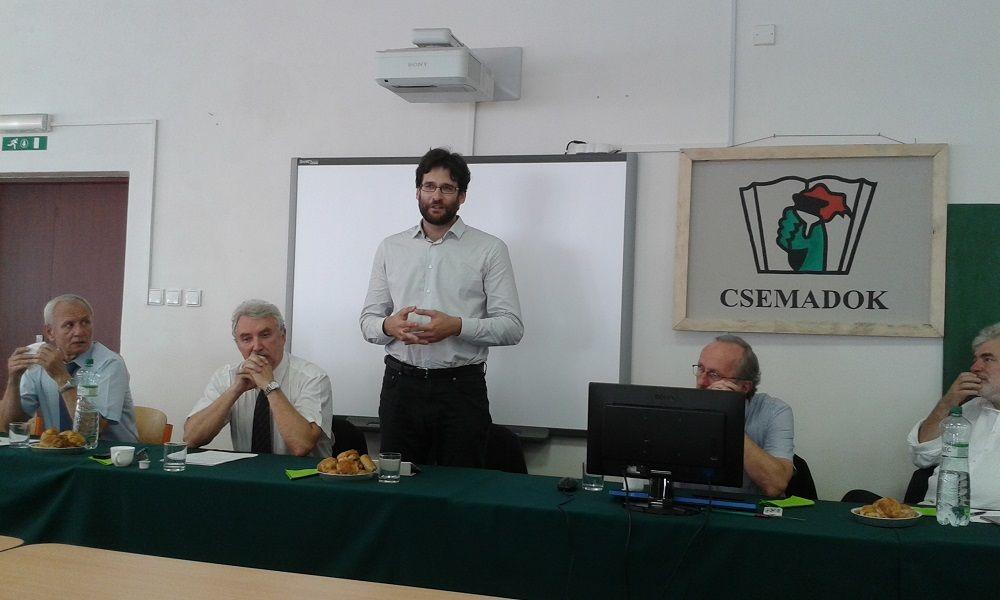 Tokár Géza vázolt az uniós kihívásokat (Fotó: HE)