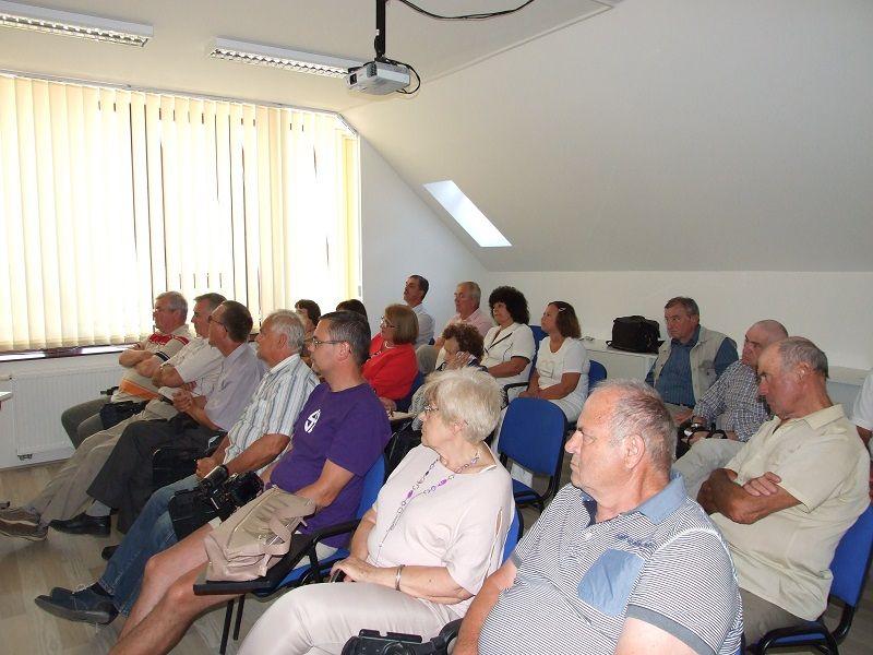 A közönség feszülten figyel (Fotó: SZL)