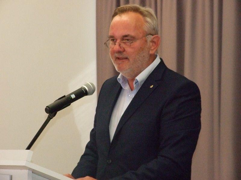 Pánczél Károly, a Nemzeti Összetartozás Bizottsága elnöke