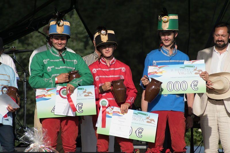 A II. Felvidéki Vágta győzteseinek (Fotó: Hideghéthy Andrea/Felvidék.ma)