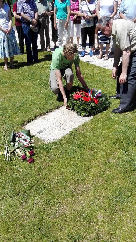 Főhajtás Maléter Pál sírjánál