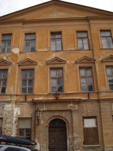 A selmeci líceum, ahová Sajó is járt Csáky Károly felvételén