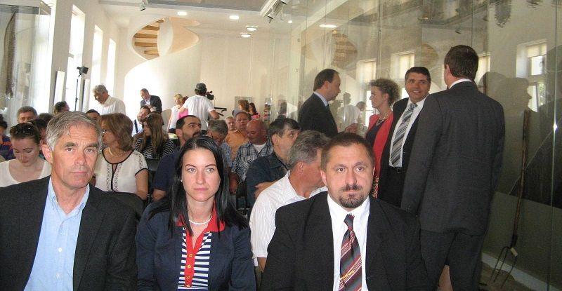 A szakmai fórum résztvevői