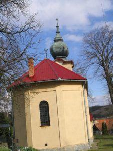 Bori református temploma nyugat felől Csáky Károly felvételén