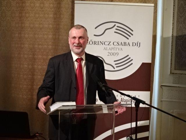 Kántor Zoltán (Fotó: Gecse Géza)
