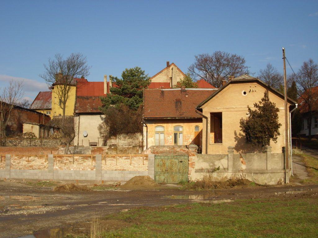E helyen állhatott a régi Sajó-ház is. Csáky Károly felvétele