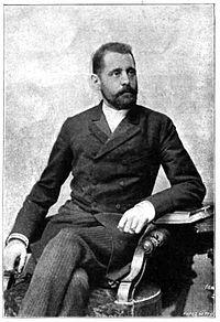 Jekelfalussy József portréja a Vasárnapu Ujságból (1896)