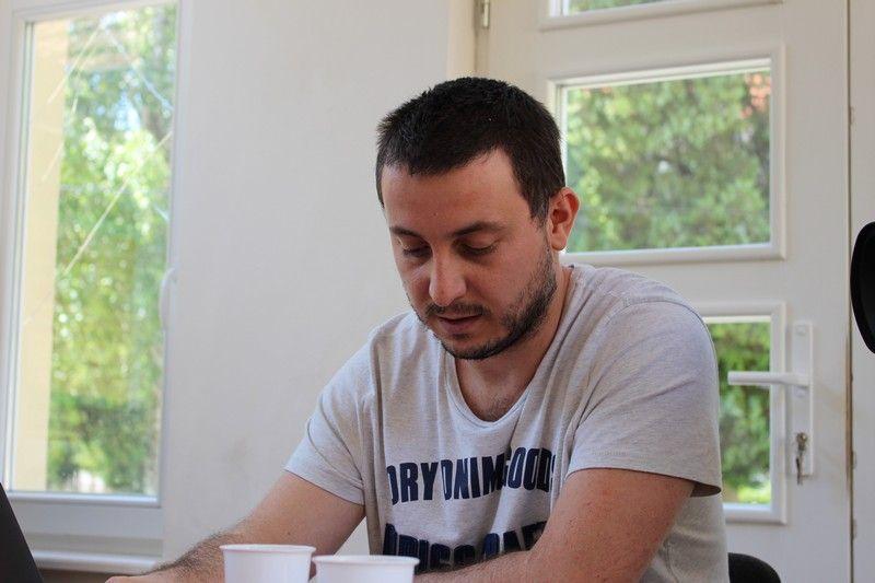 Kovács Dávid, az esemény koordinátora