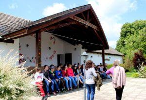 Magyarországi diákok Nagyszelmencen