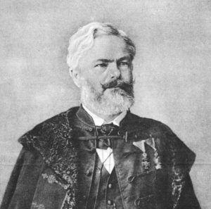 Péch Antal portréja