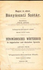 Péch Antal szótára