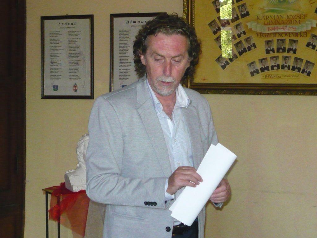 Papp Sándor a tanácskozás szervezője (Fotó: HE)