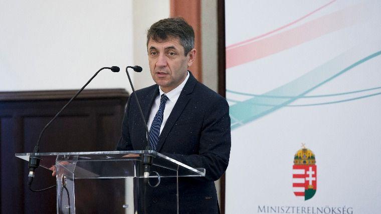 Potápi Árpád János nemzetpolitikai államtitkár (Fotó: MTI/Koszticsák Szilárd)