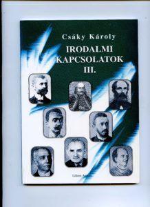 Sajó Sándor a szerző egyik kötetének címlapján. Csáky Károly reprodukciója