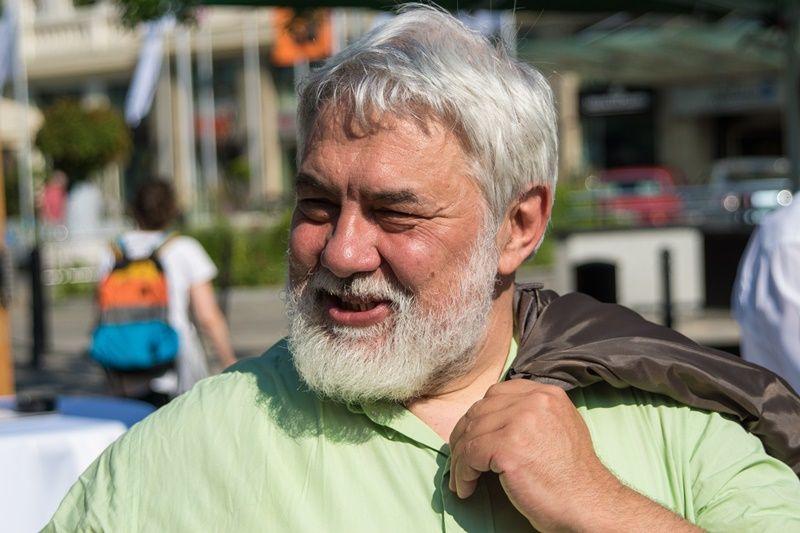 Molnár Imre, a Pozsonyi Magyar Intézet igazgatója a rendezvényen