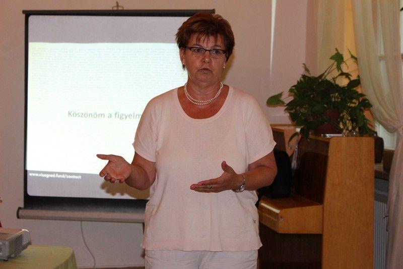 Pogány Erzsébet, a Szövetség a Közös Célokért igazgatója is jelen volt