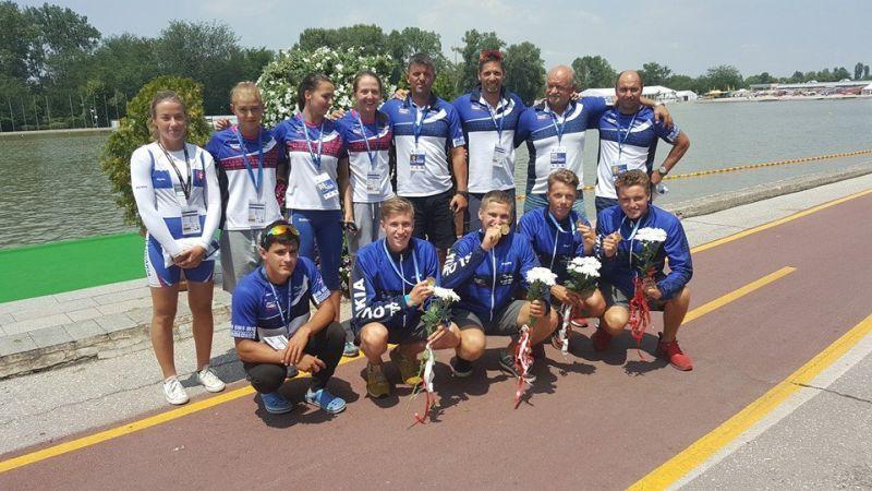 A szlovák csapat Plovdivban.