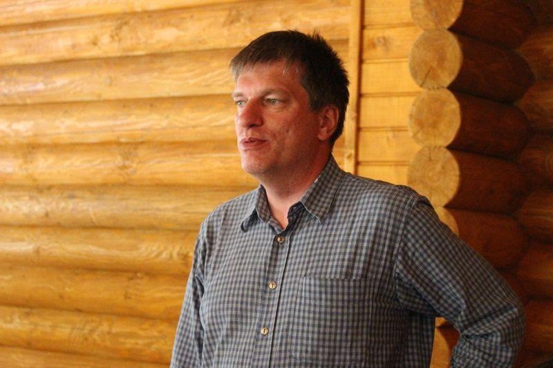 Bereznai Csaba, a Bázis egyesület elnökségi tagja. (Fotó: Felvidék.ma)