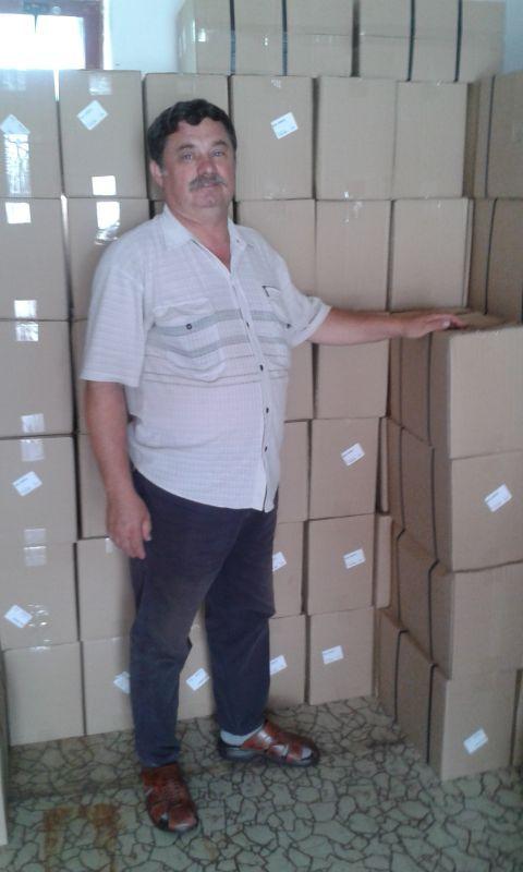 Bugár György és a csomagok
