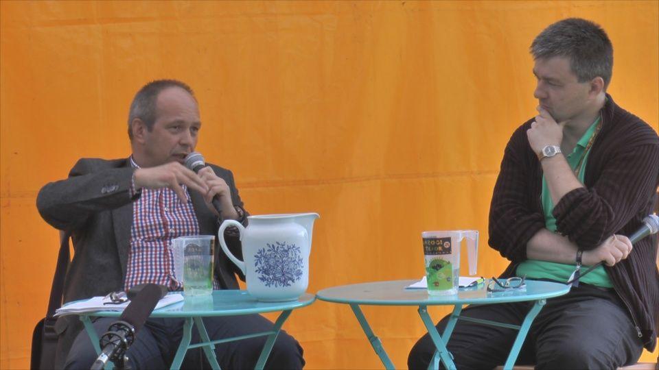 Bukovszky László és Mózes Szabolcs (Fotó: Haraszti Gyula)