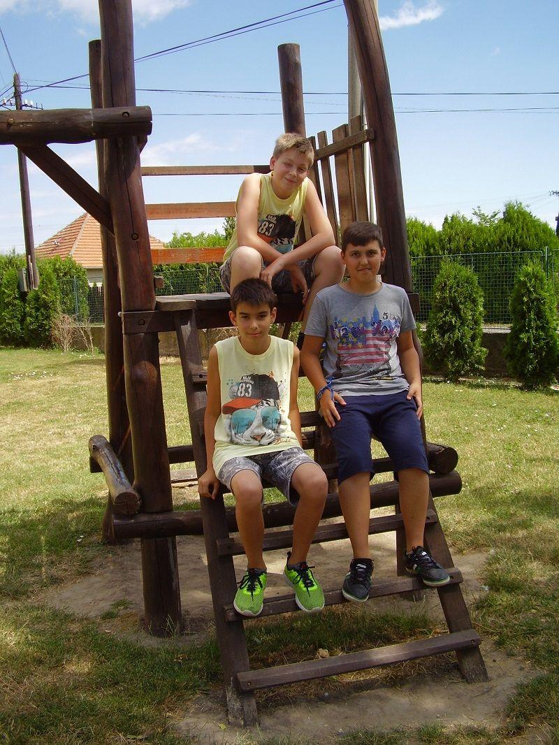 Christopher, Noel Rómeó és Dominik (Fotó: Bárány János)