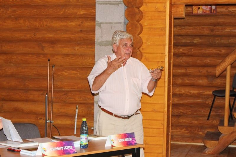 Duray Miklós. a SZaKC elnöke. (Fotó: Felvidék.ma)