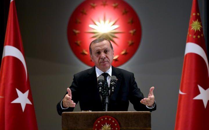 Erdogan, a keménykezű török elnök (Fotó: telegraph.co.uk)