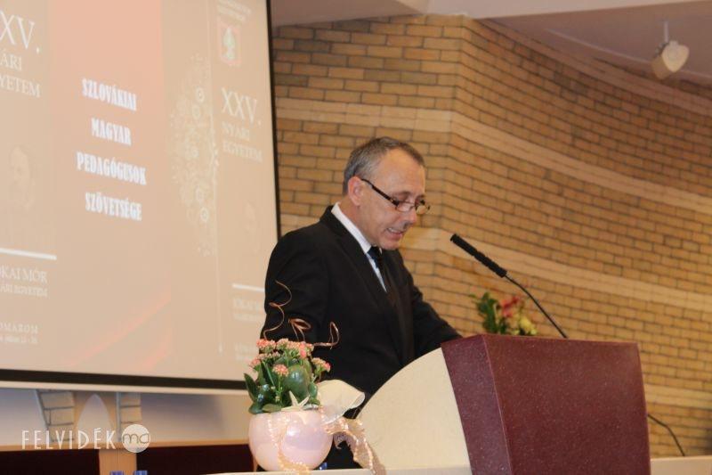 Jókai Tibor, az SZMPSZ elnöke. (Fotó: nt)