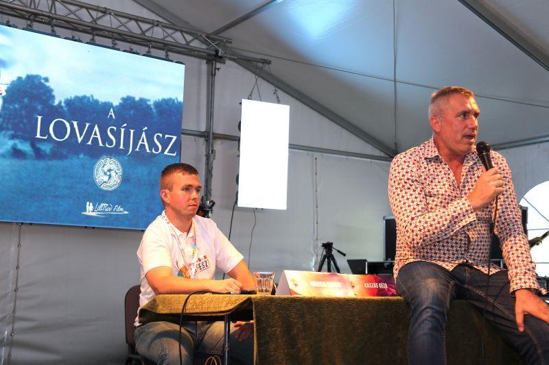 Kaszás Géza a Lovasíjászról.