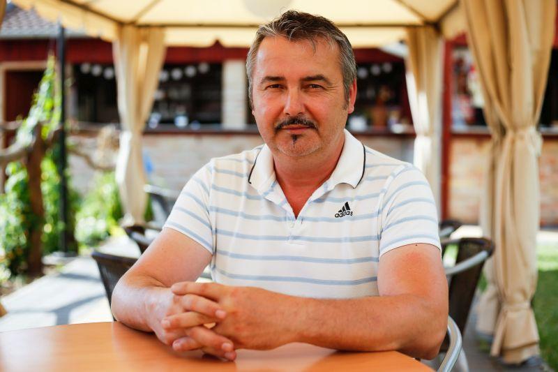 Majerčik Péter szállodaigazgató, szervező.