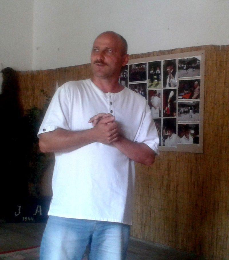 Nagy György, a Gömöri Kézművesek Társulásának elnöke (Fotó: BB)