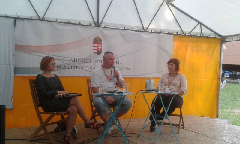 Oktatásügyi fórum Gombaszögön. (Fotó: bb/Felvidék.ma)