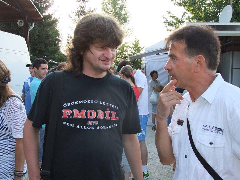 Oriskó Norbert és Ladányi Lajos (Fotó: TK)