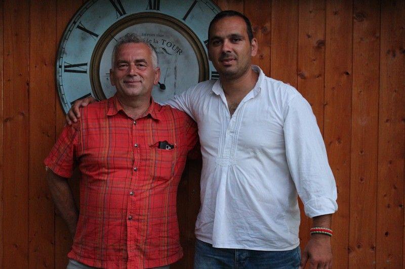 Pikáli Róbert és Samu István. (Fotó: Szalai Erika/Felvidék.ma)