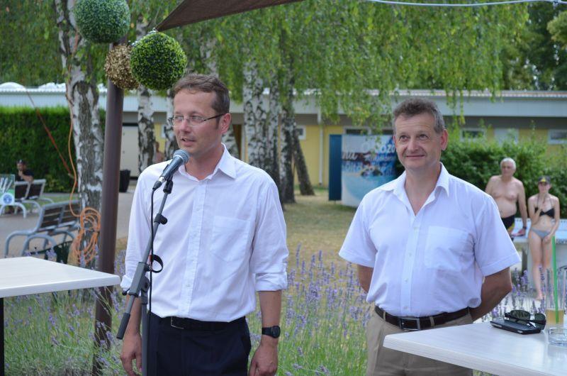 Somogyi Gábor és Hájos Zoltán.