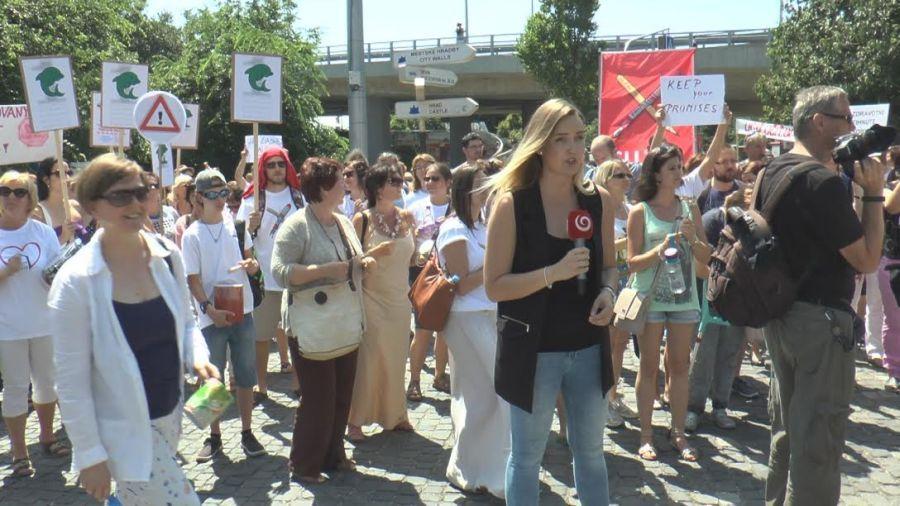 Tüntetés 3