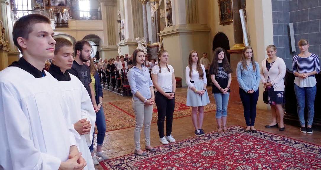 A pozsonyi magyar közösséget tizennyolc fiatal képviseli (Fotó: Vician Tamás)